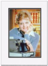 Angela Lansbury Autograph Signed Photo - Murder, She Wrote